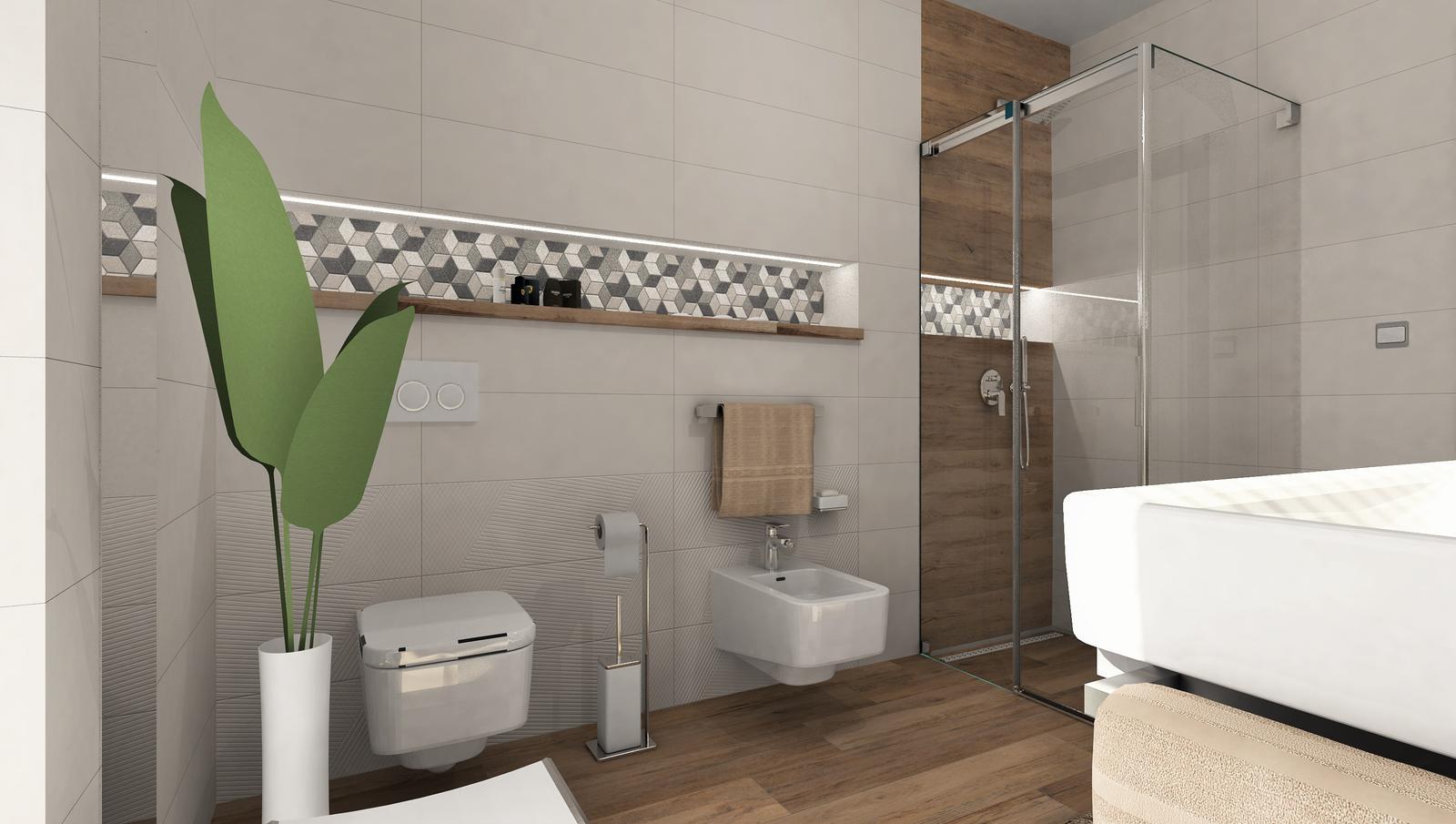3D návrhy kúpeľní - vizualizácie - Obrázok č. 31