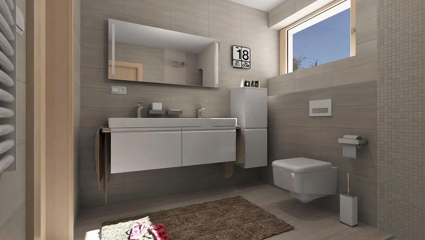 3D návrhy kúpeľní - vizualizácie - Obrázok č. 33