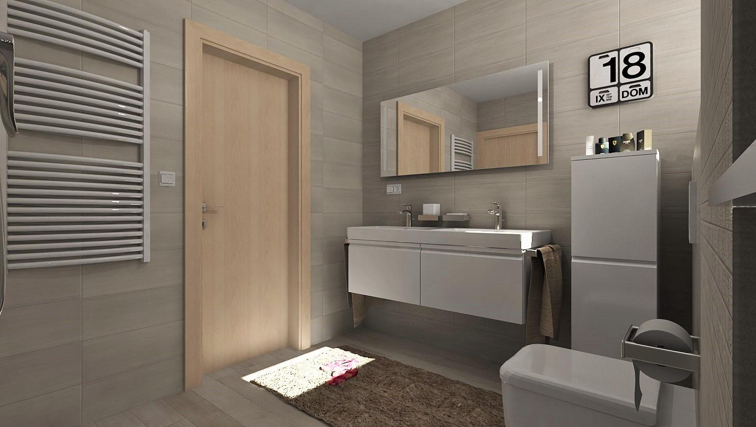 3D návrhy kúpeľní - vizualizácie - Obrázok č. 34