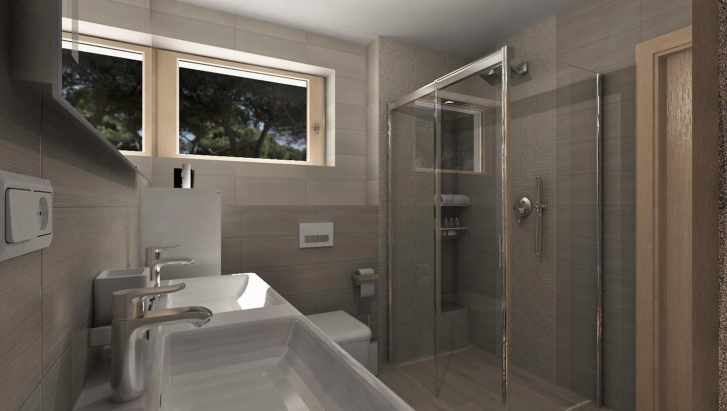 3D návrhy kúpeľní - vizualizácie - Obrázok č. 36