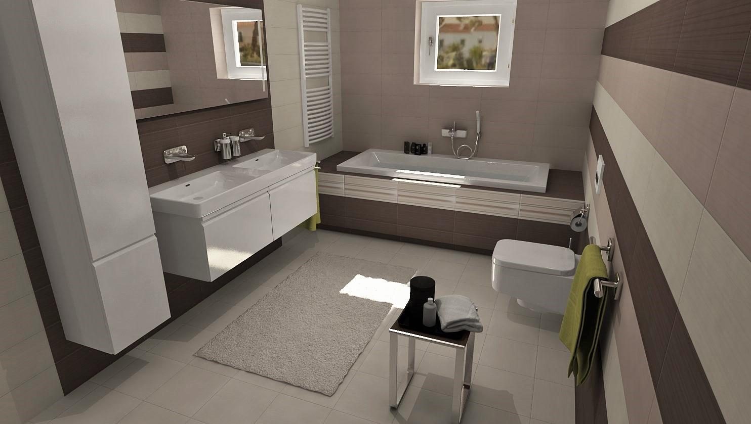 3D návrhy kúpeľní - vizualizácie - Obrázok č. 37