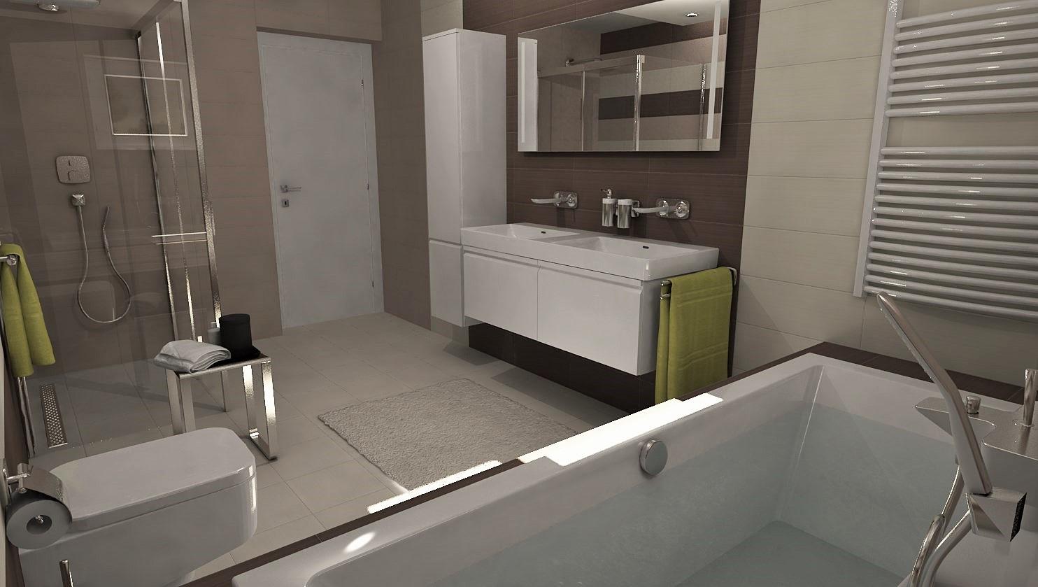3D návrhy kúpeľní - vizualizácie - Obrázok č. 38