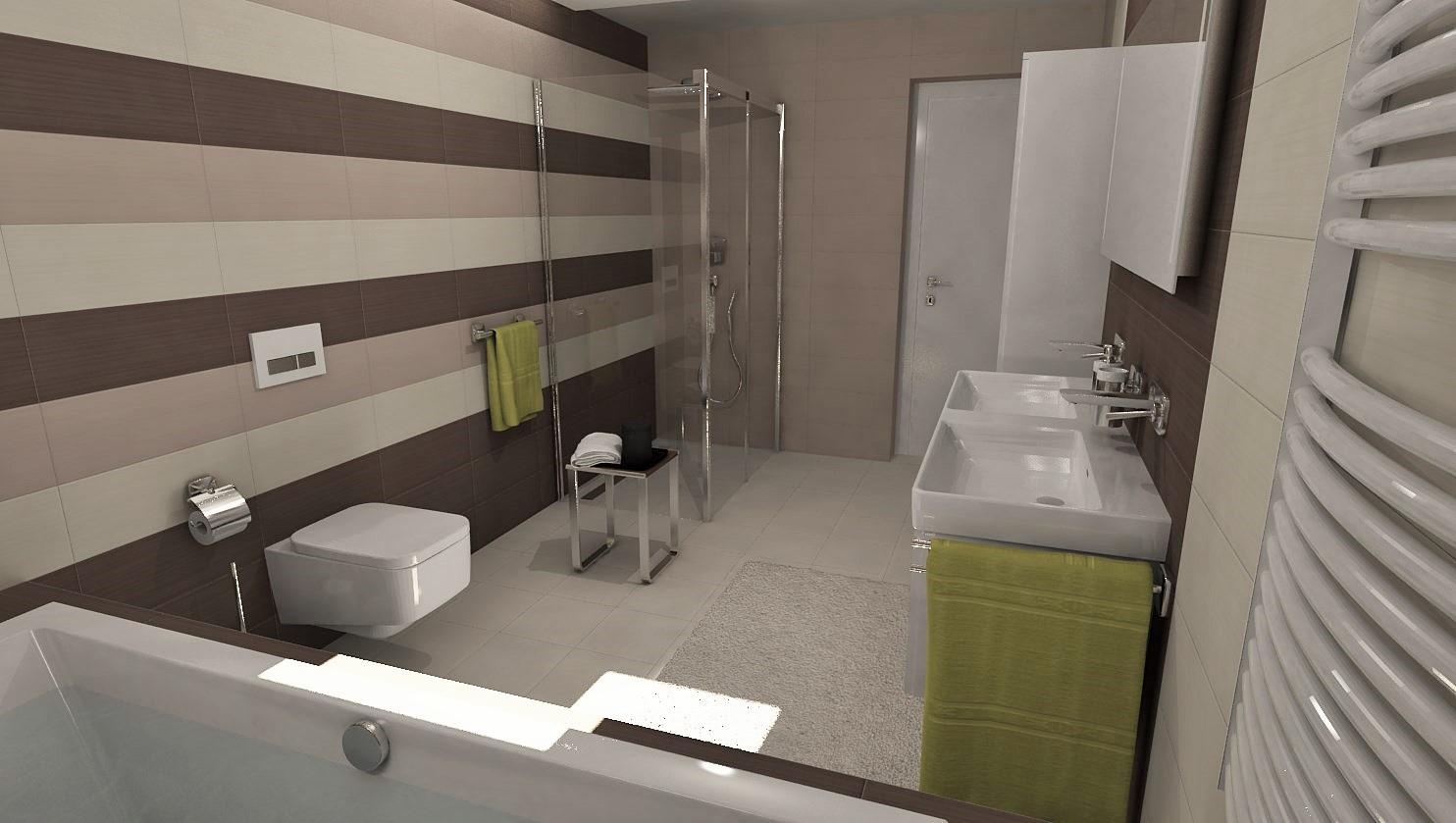 3D návrhy kúpeľní - vizualizácie - Obrázok č. 39