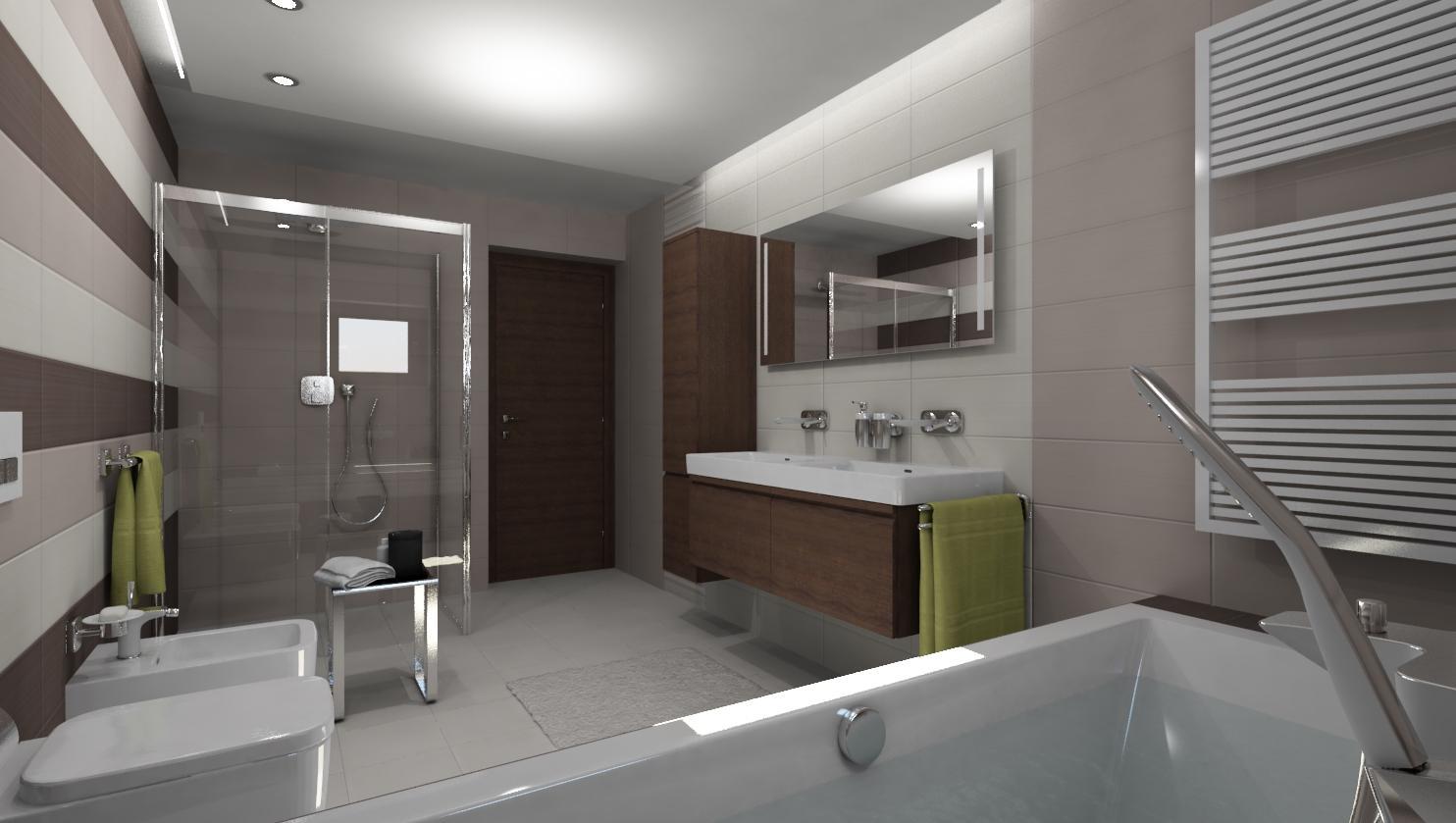 3D návrhy kúpeľní - vizualizácie - Obrázok č. 40