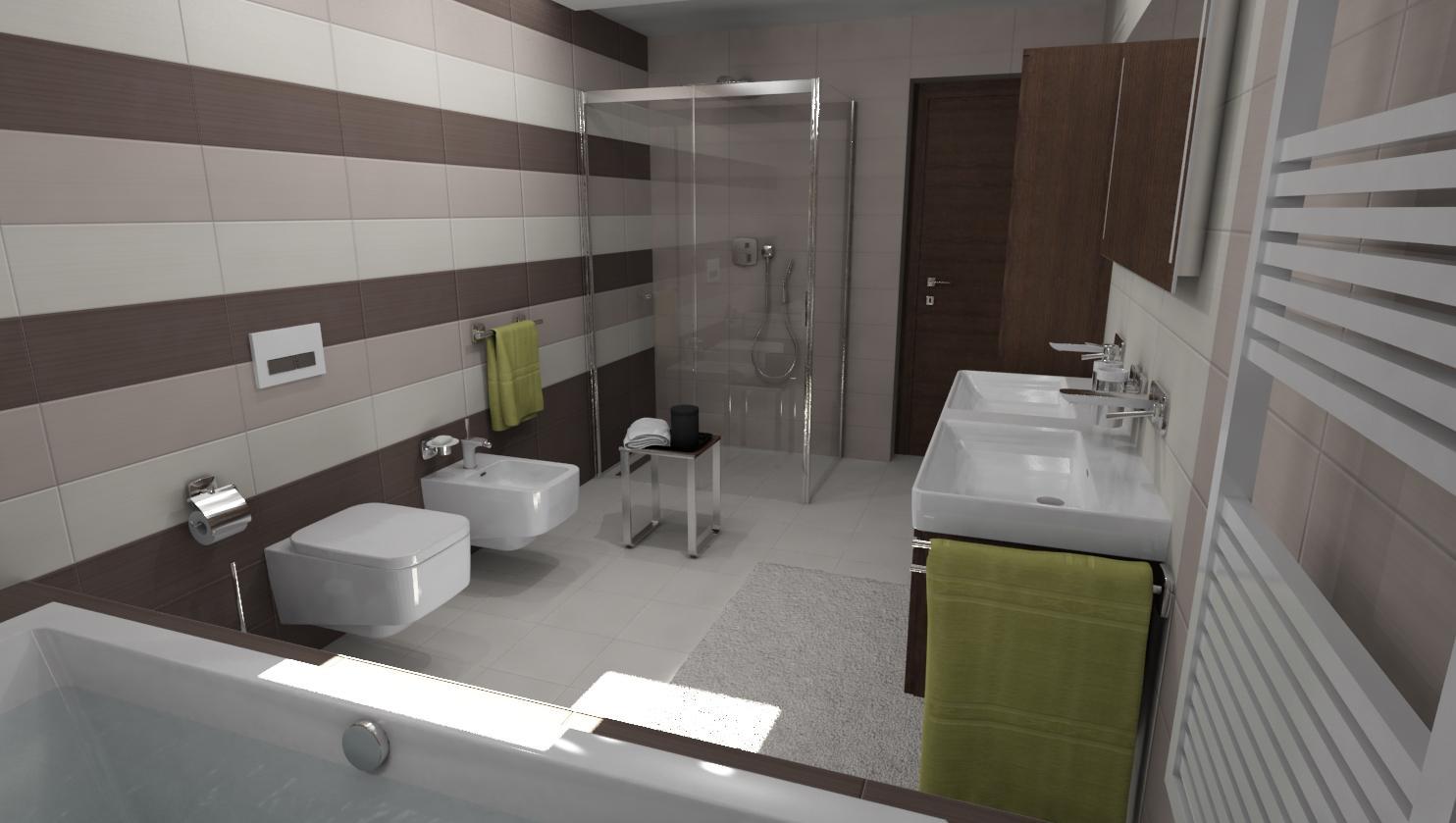 3D návrhy kúpeľní - vizualizácie - Obrázok č. 41