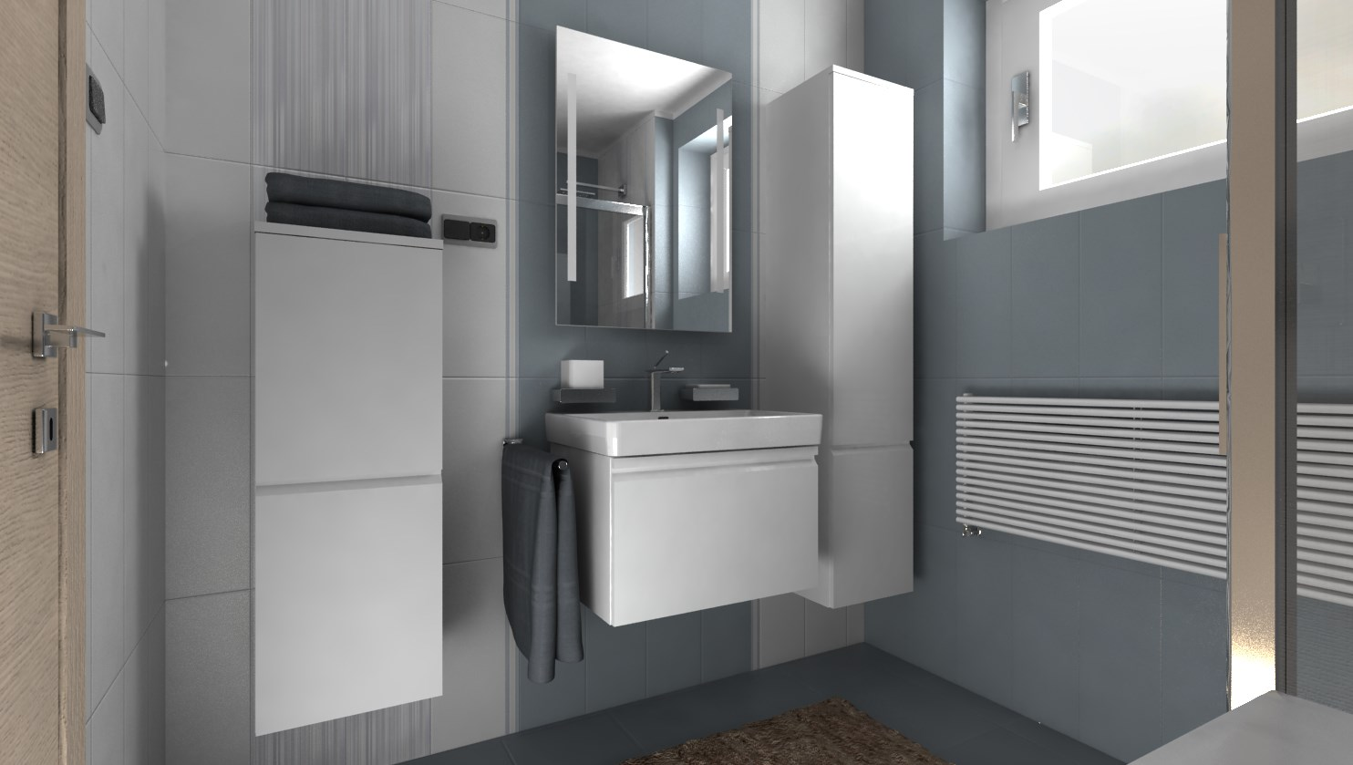 3D návrhy kúpeľní - vizualizácie - Obrázok č. 43