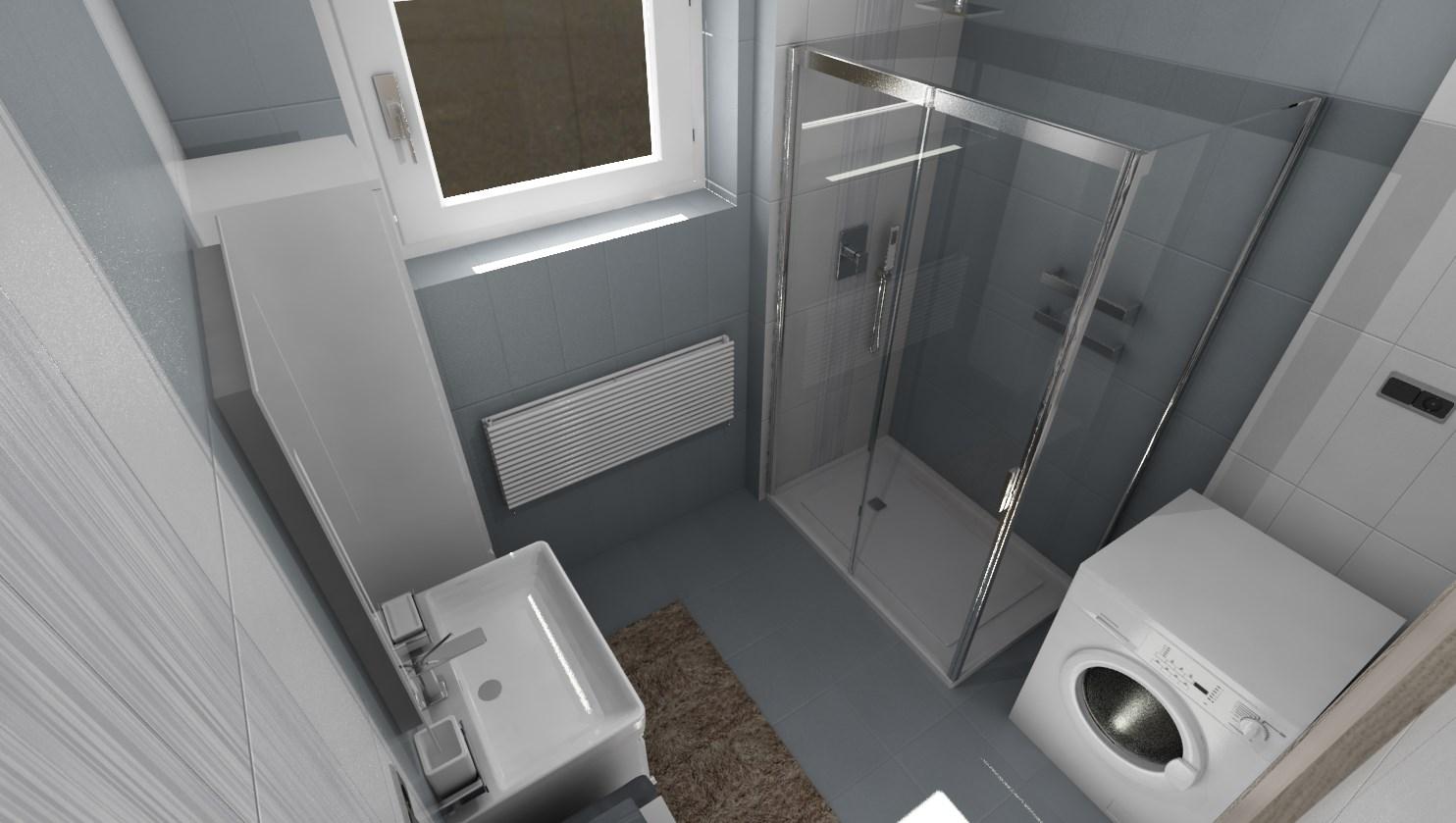 3D návrhy kúpeľní - vizualizácie - Obrázok č. 44