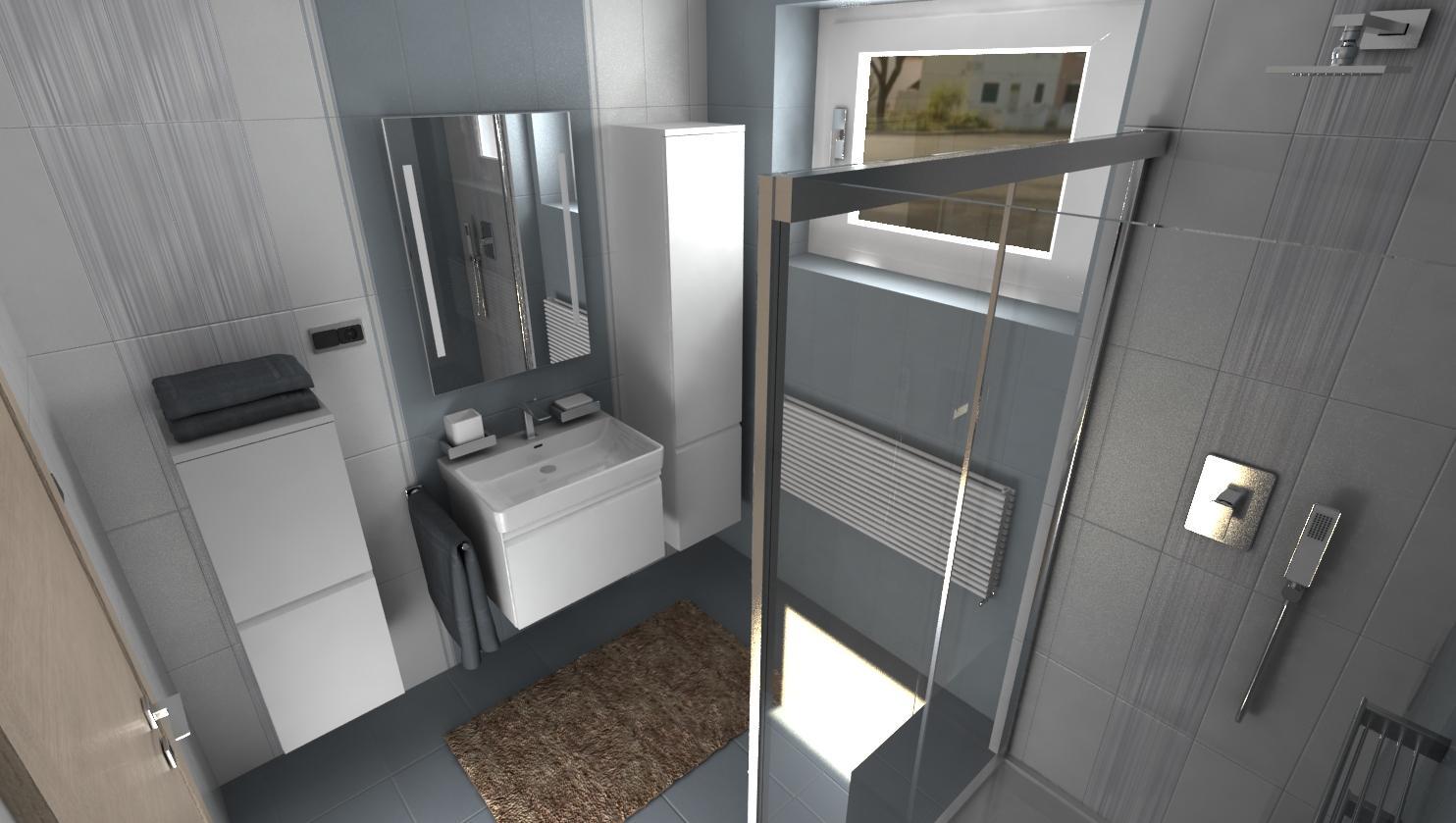 3D návrhy kúpeľní - vizualizácie - Obrázok č. 45