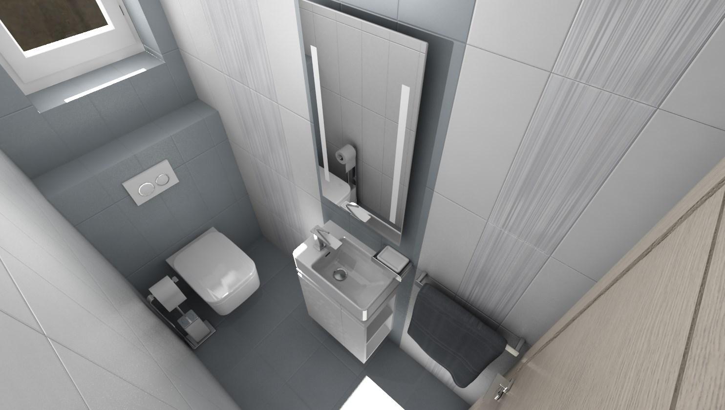 3D návrhy kúpeľní - vizualizácie - Obrázok č. 46