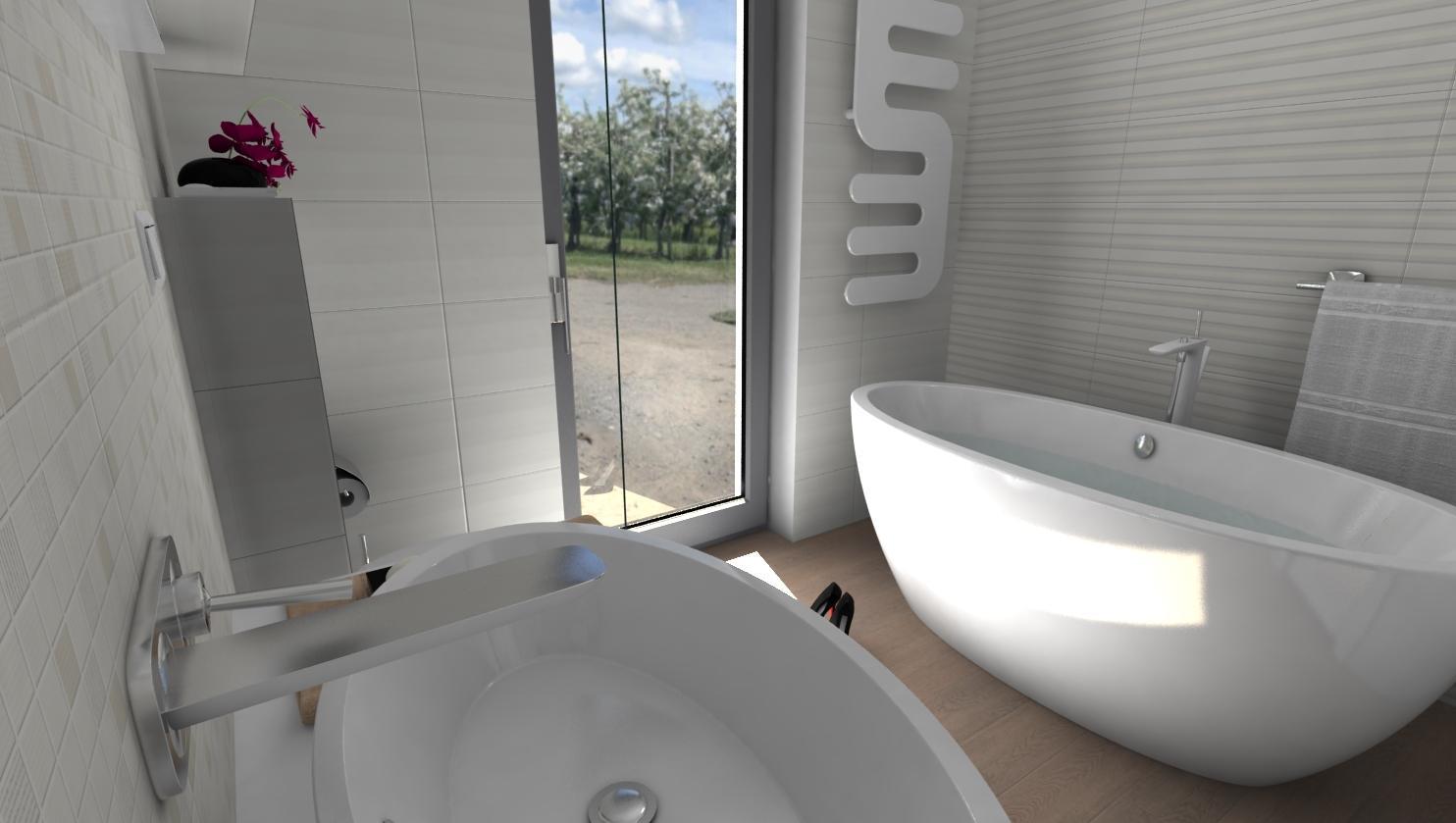 3D návrhy kúpeľní - vizualizácie - Obrázok č. 50