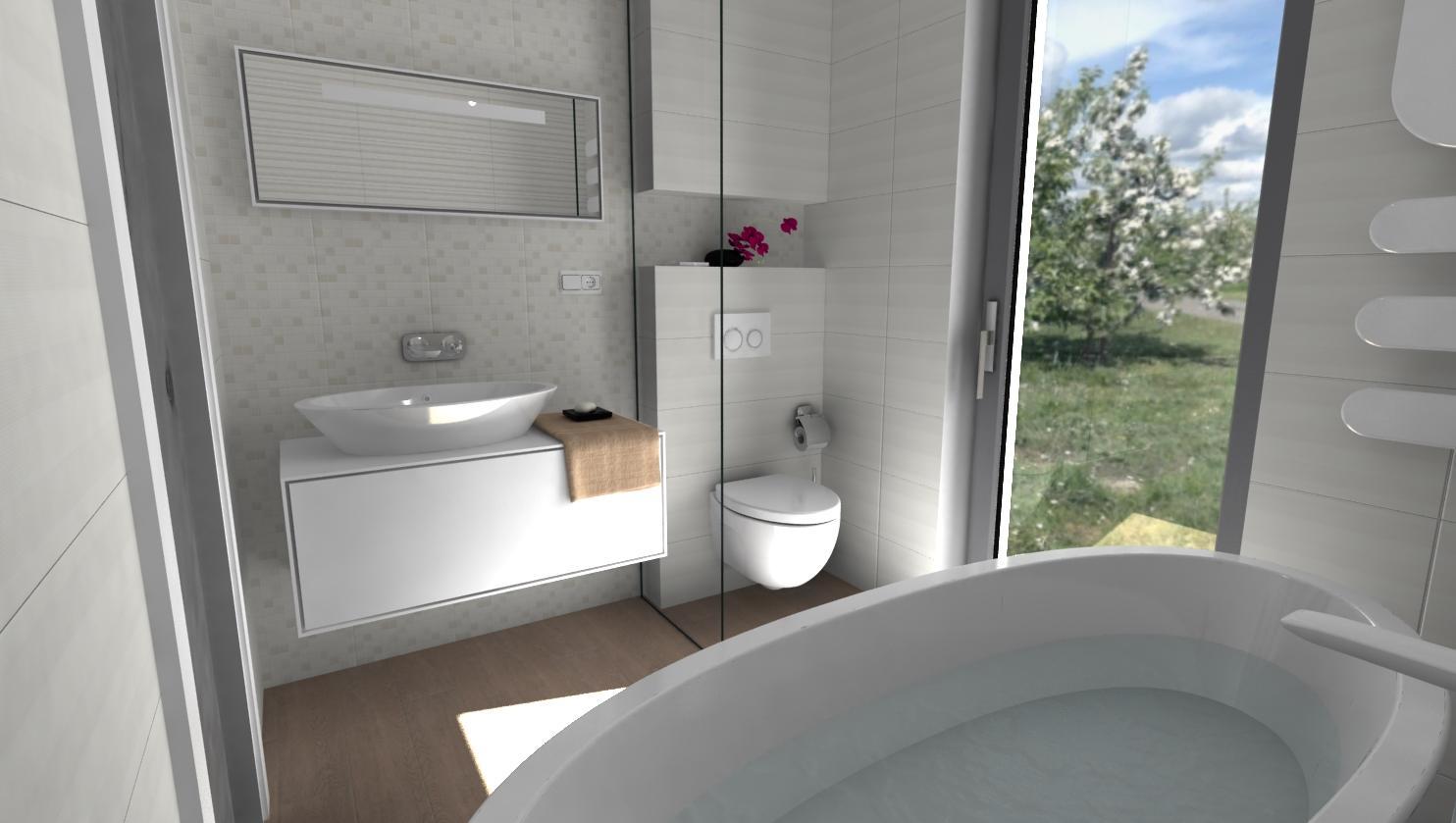 3D návrhy kúpeľní - vizualizácie - Obrázok č. 51