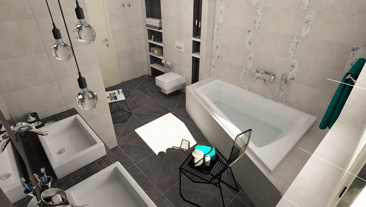 3D návrhy kúpeľní - vizualizácie - Obrázok č. 2