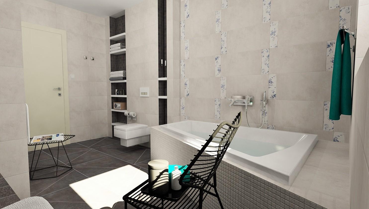 3D návrhy kúpeľní - vizualizácie - Obrázok č. 5