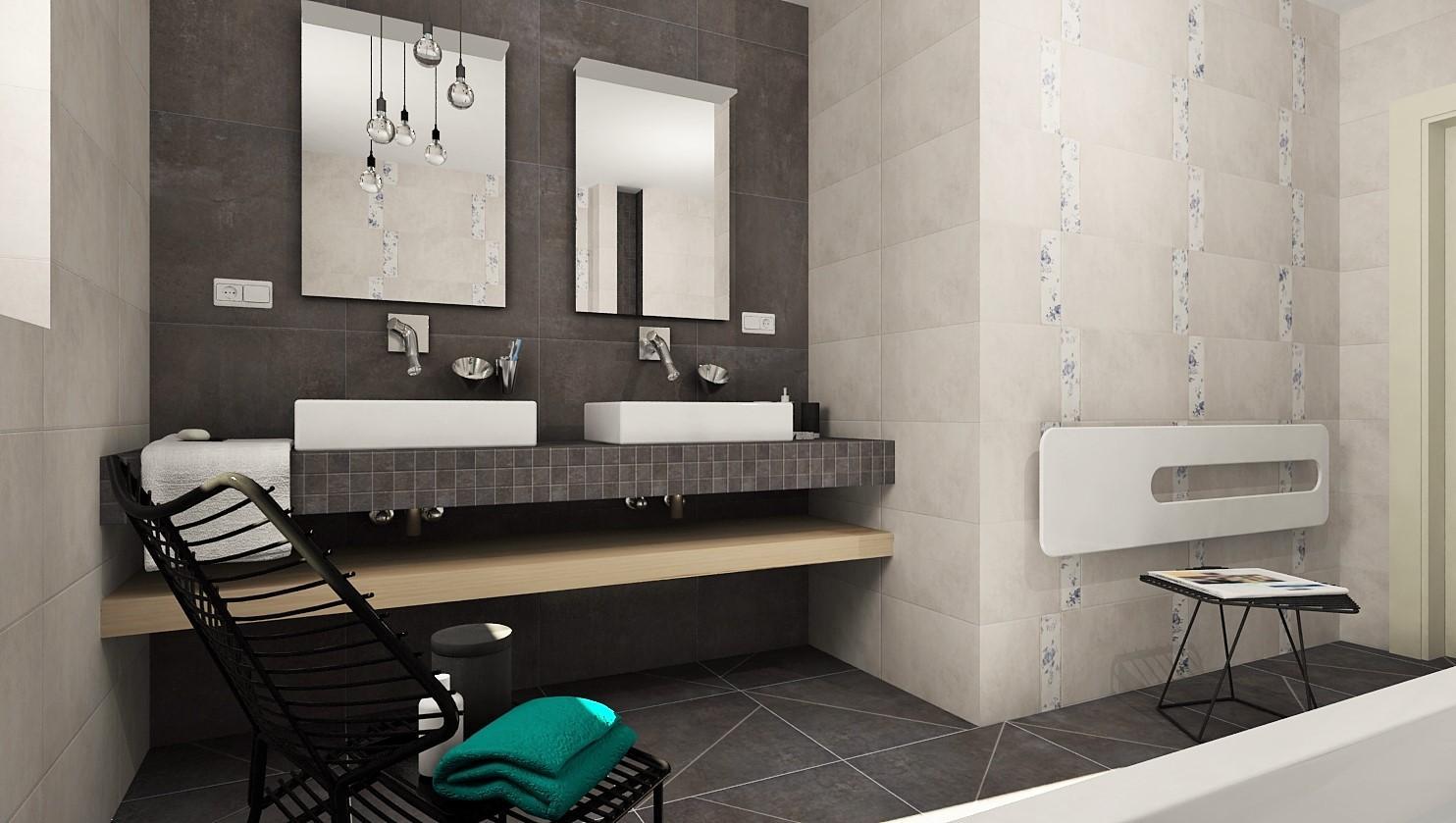 3D návrhy kúpeľní - vizualizácie - Obrázok č. 3