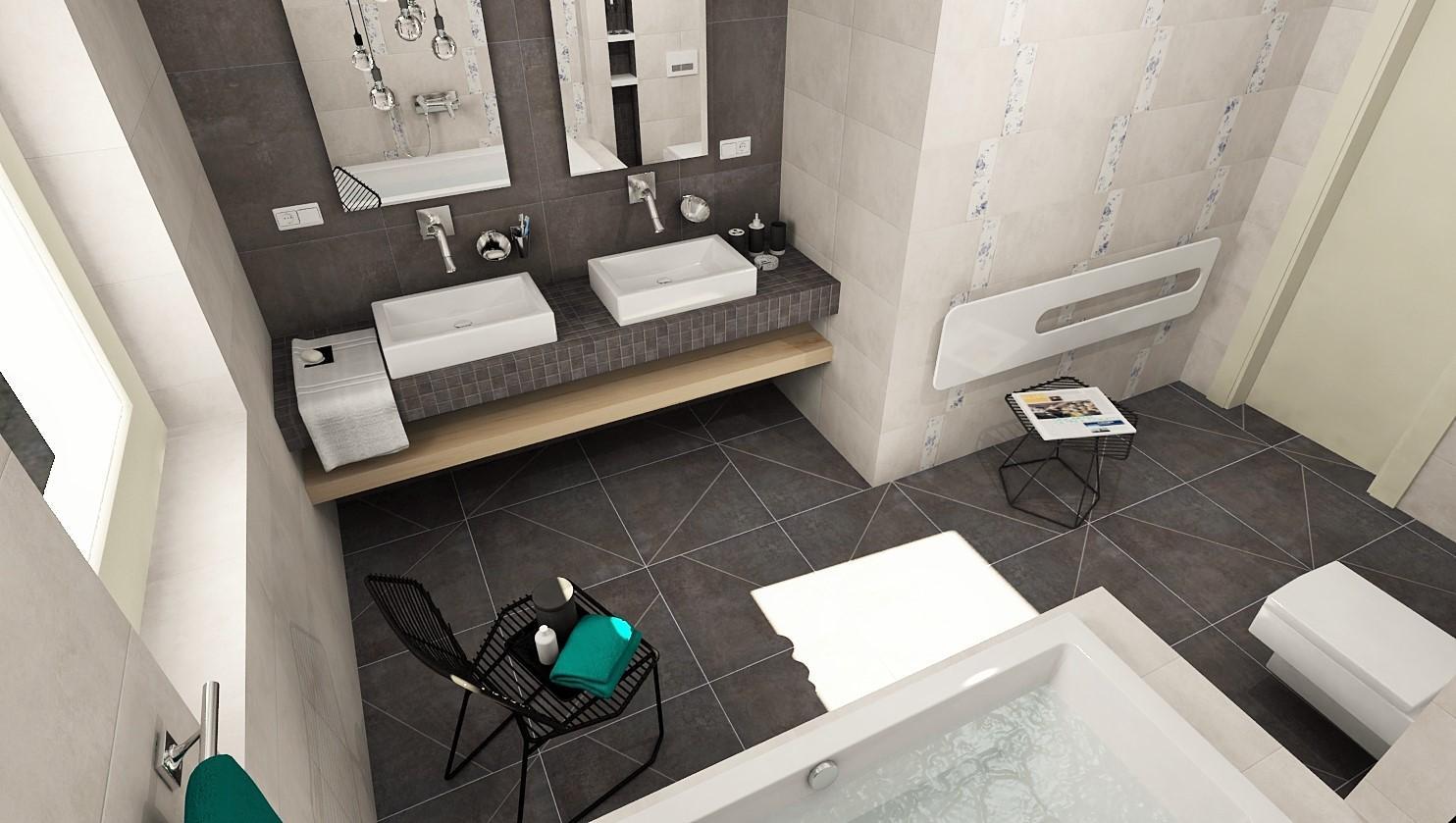 3D návrhy kúpeľní - vizualizácie - Obrázok č. 4