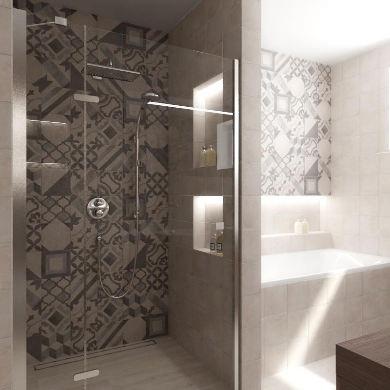 3D návrhy kúpeľní - vizualizácie - Obrázok č. 61