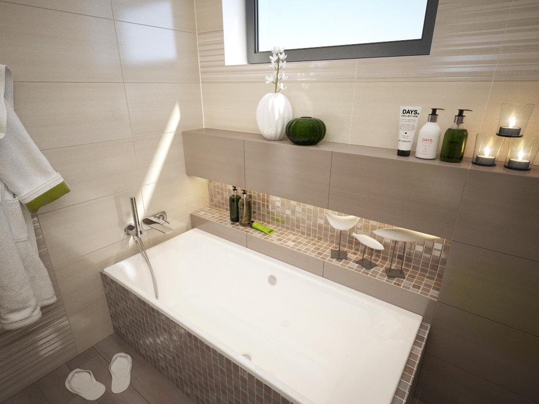 3D návrhy kúpeľní - vizualizácie - Obrázok č. 77