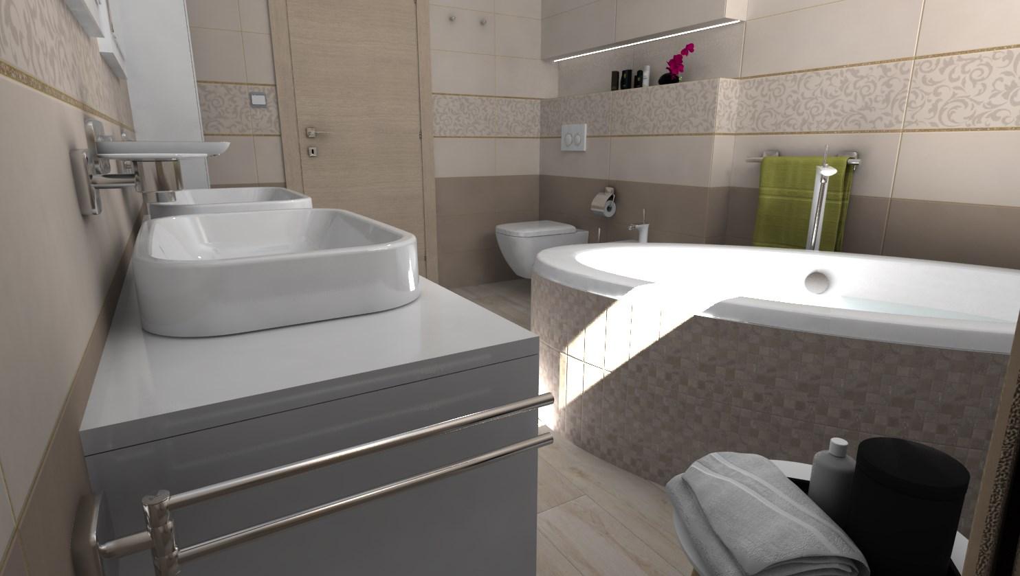 Vizualizácie kúpeľne - Obrázok č. 109