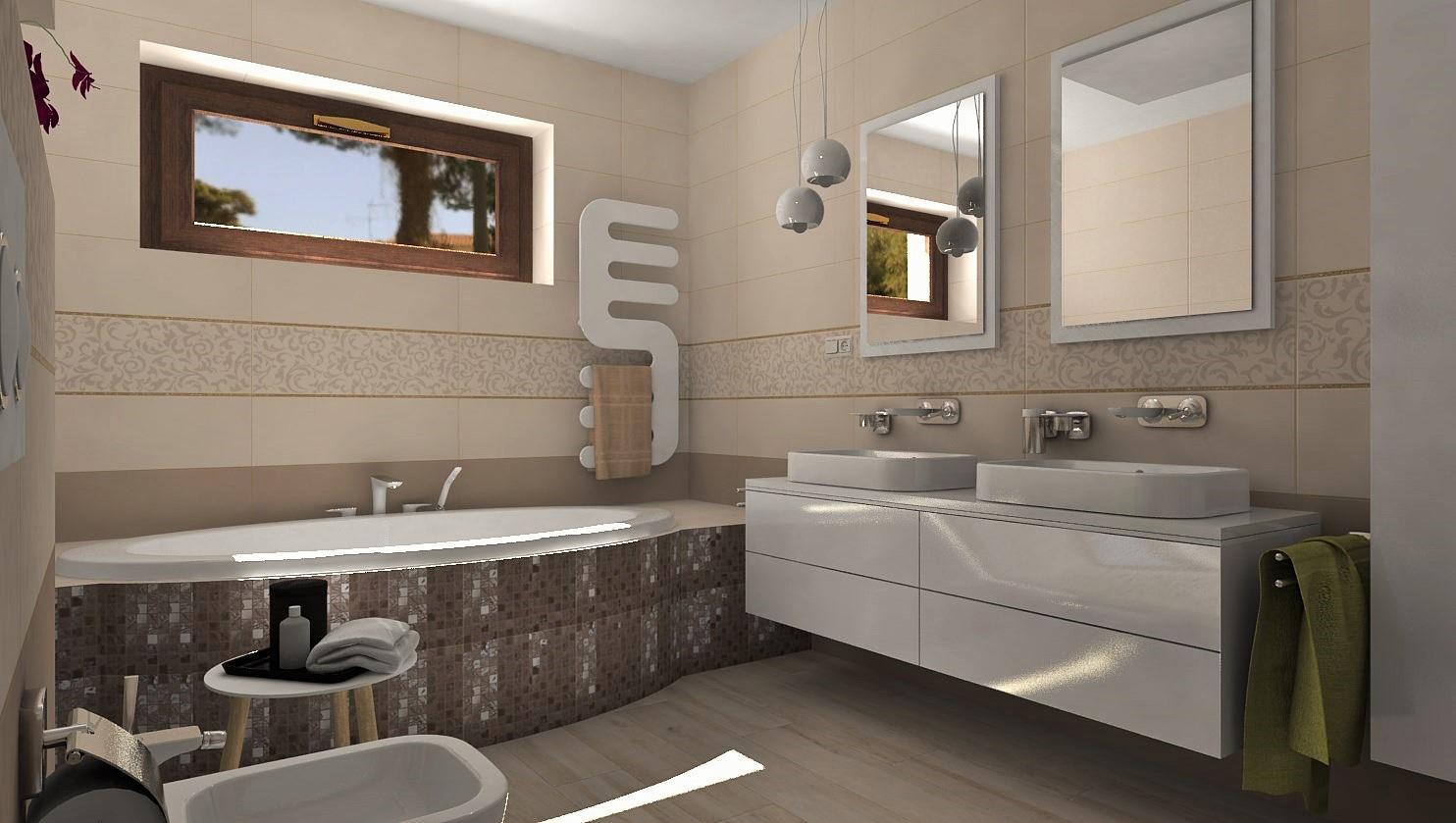 Vizualizácie kúpeľne - Obrázok č. 112