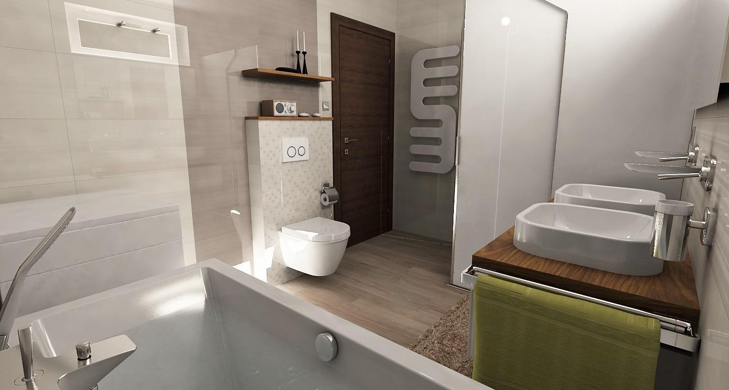 Vizualizácie kúpeľne - Obrázok č. 113