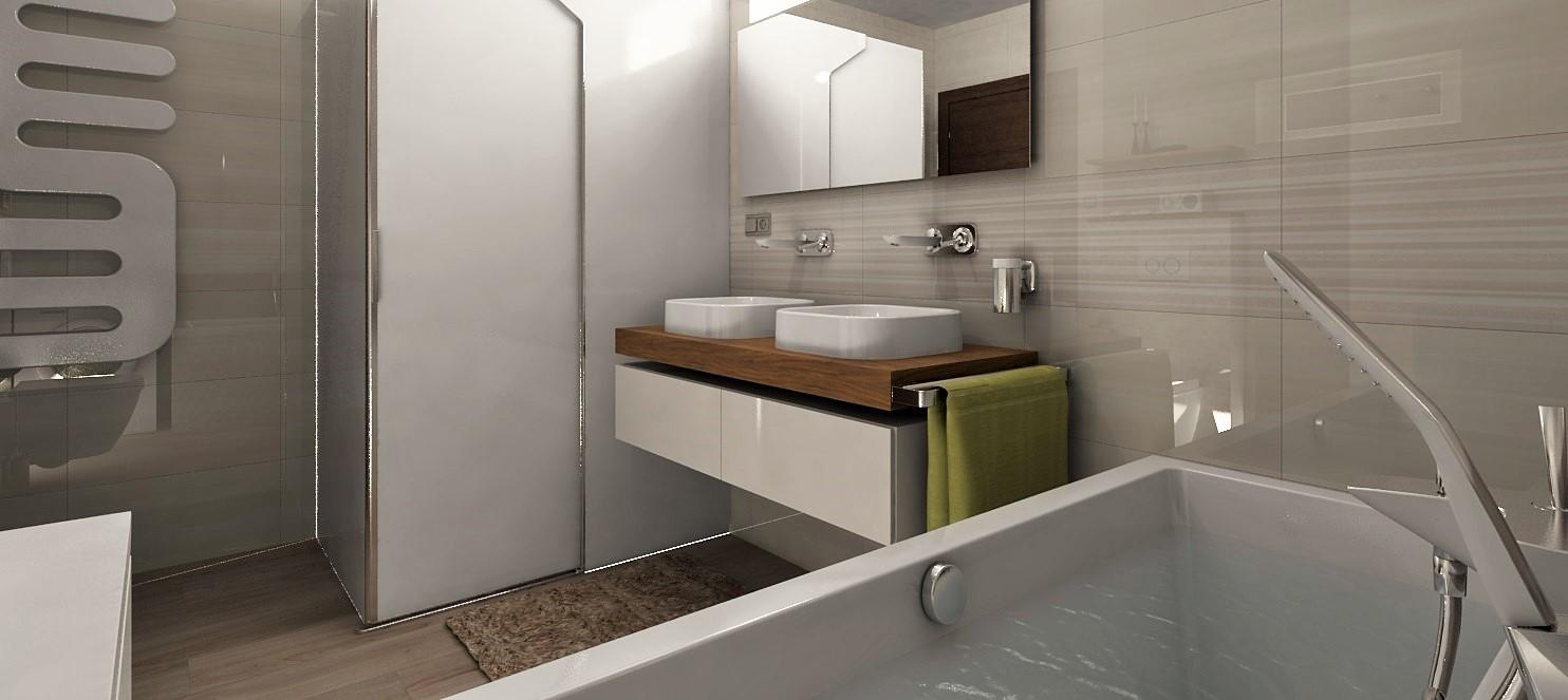 Vizualizácie kúpeľne - Obrázok č. 114