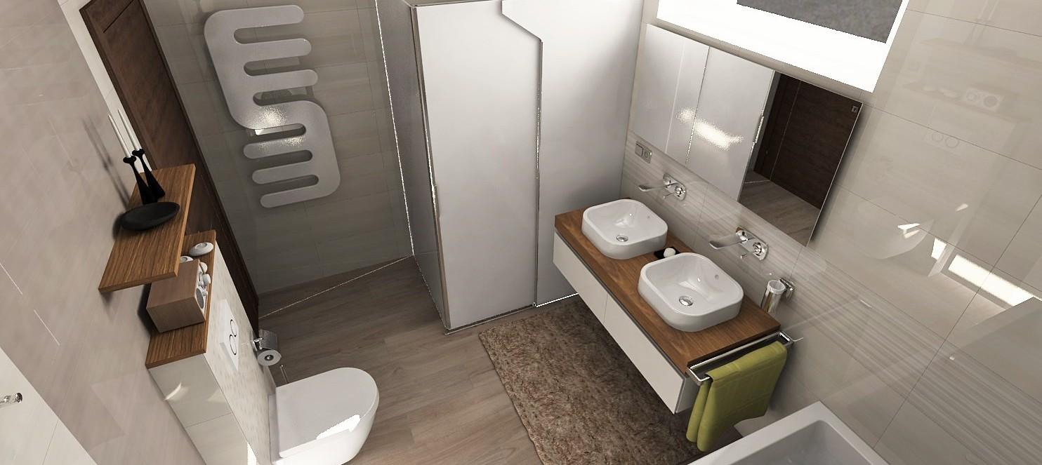 Vizualizácie kúpeľne - Obrázok č. 116