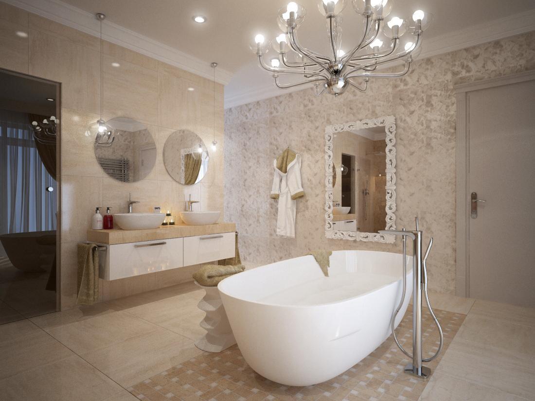 Návrhy a vizualizácie kúpeľní - Zmena mozaiky