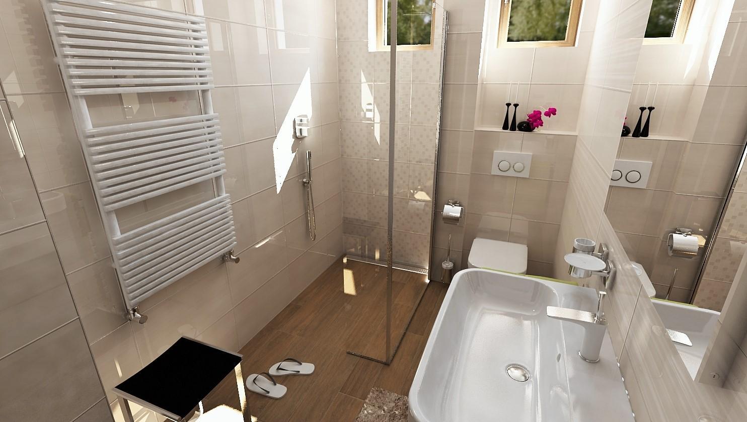 Návrhy a vizualizácie kúpeľní - Obrázok č. 11