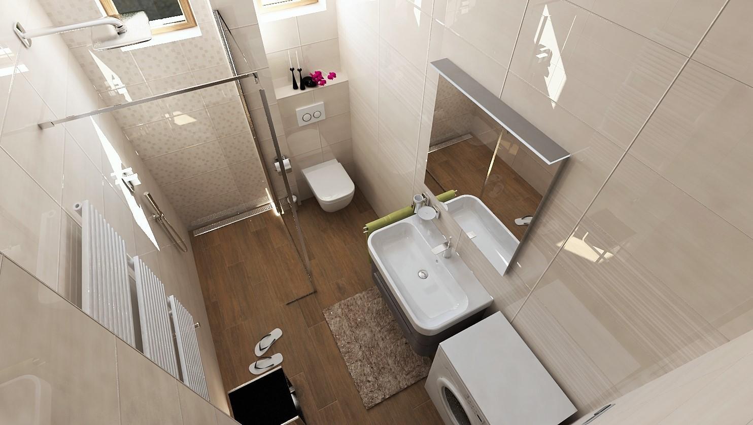 Návrhy a vizualizácie kúpeľní - Obrázok č. 12