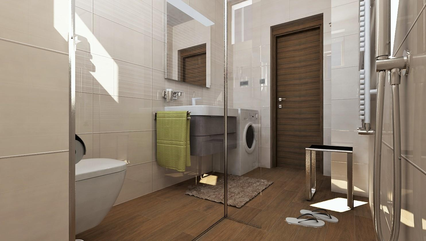 Návrhy a vizualizácie kúpeľní - Obrázok č. 13