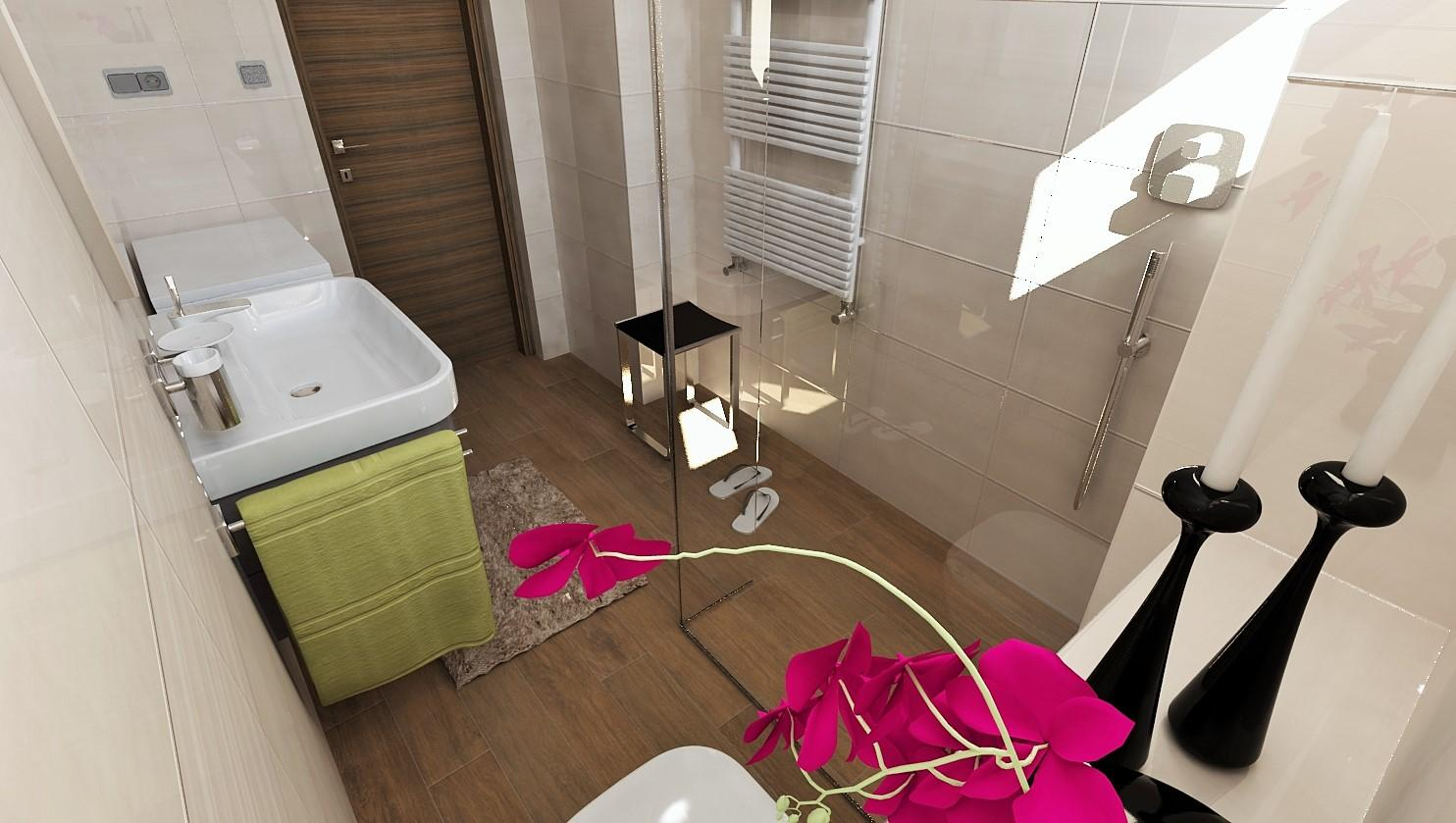 Návrhy a vizualizácie kúpeľní - Obrázok č. 14
