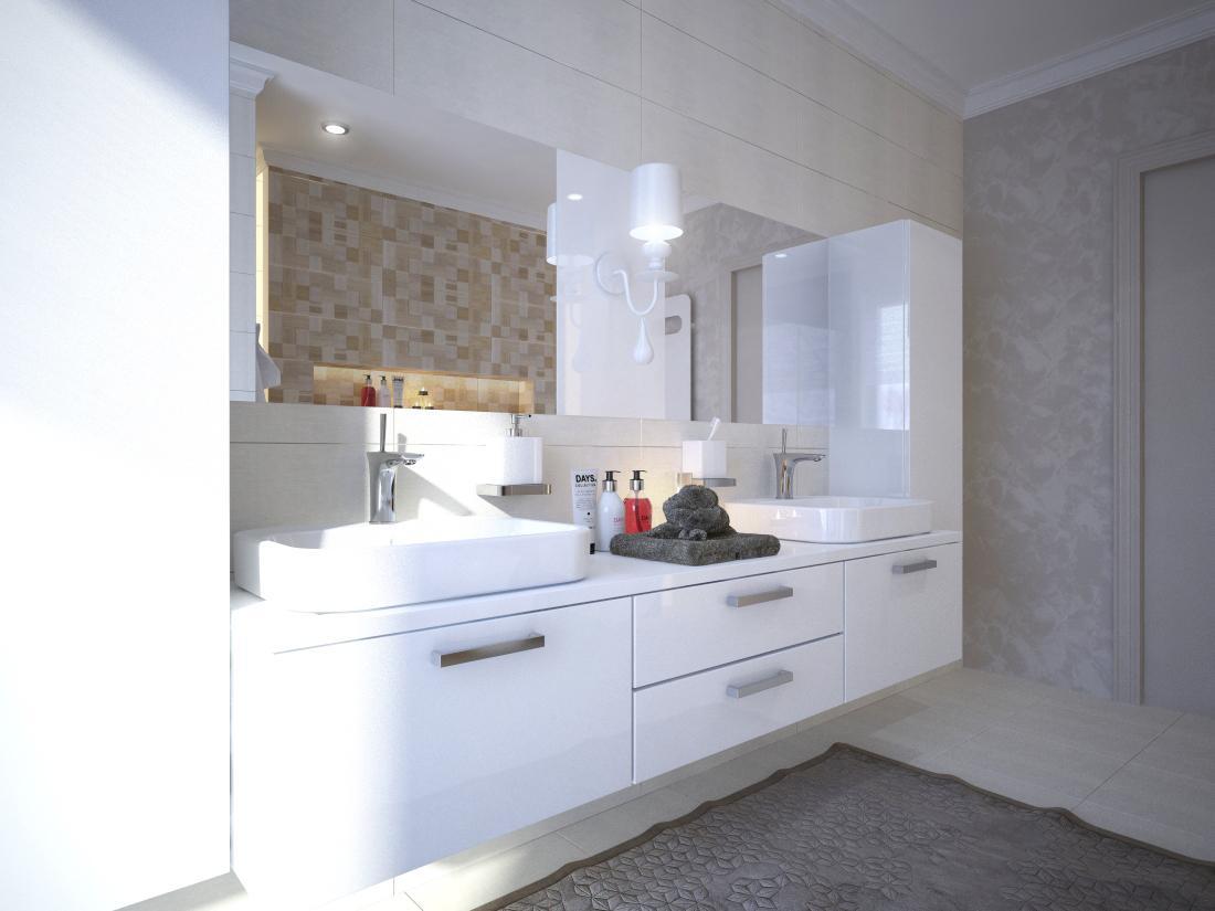 3D návrhy kúpeľní - vizualizácie - Obrázok č. 92