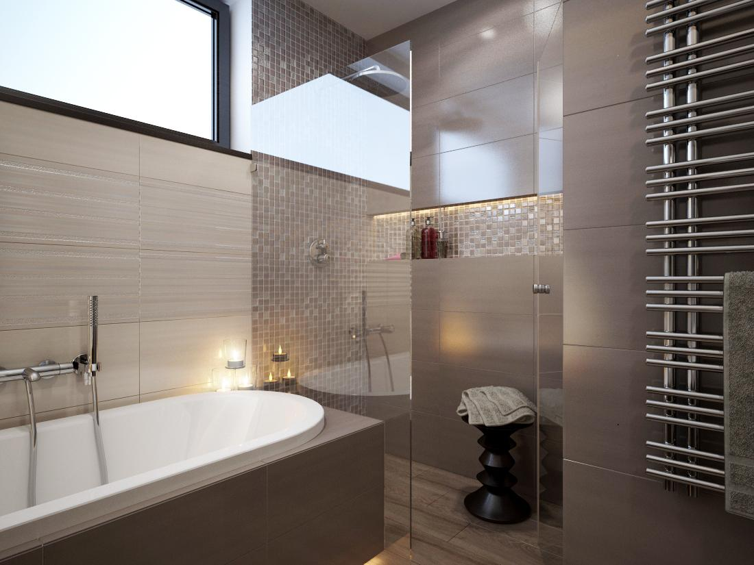 Návrhy a vizualizácie kúpeľní - Obrázok č. 20