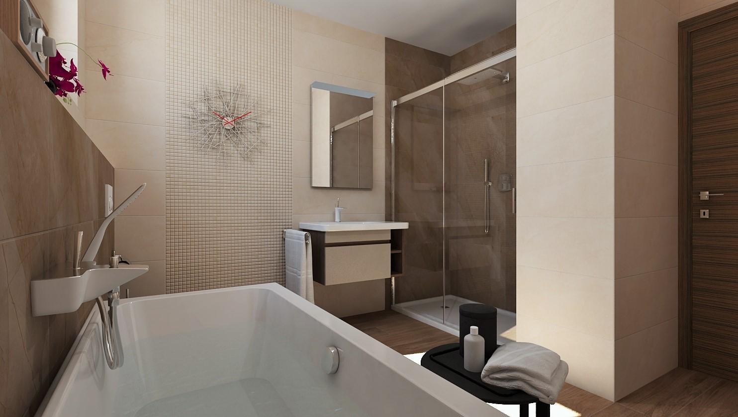 3D návrhy kúpeľní - vizualizácie - Obrázok č. 94