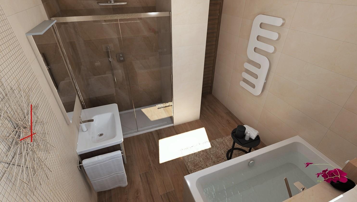 3D návrhy kúpeľní - vizualizácie - Obrázok č. 95