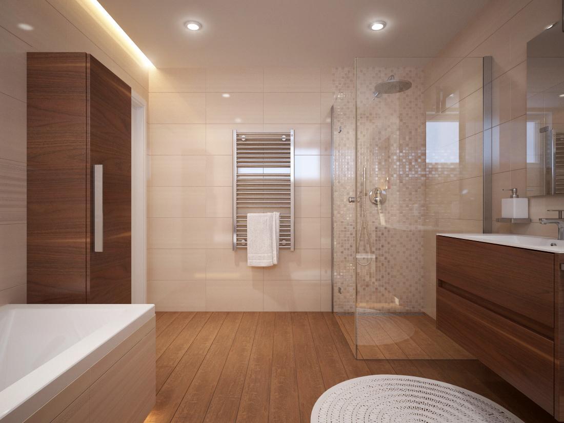3D návrhy kúpeľní - vizualizácie - Obrázok č. 98