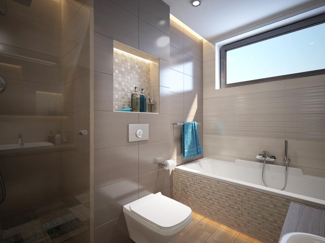 Návrhy a vizualizácie kúpeľní - Obrázok č. 32