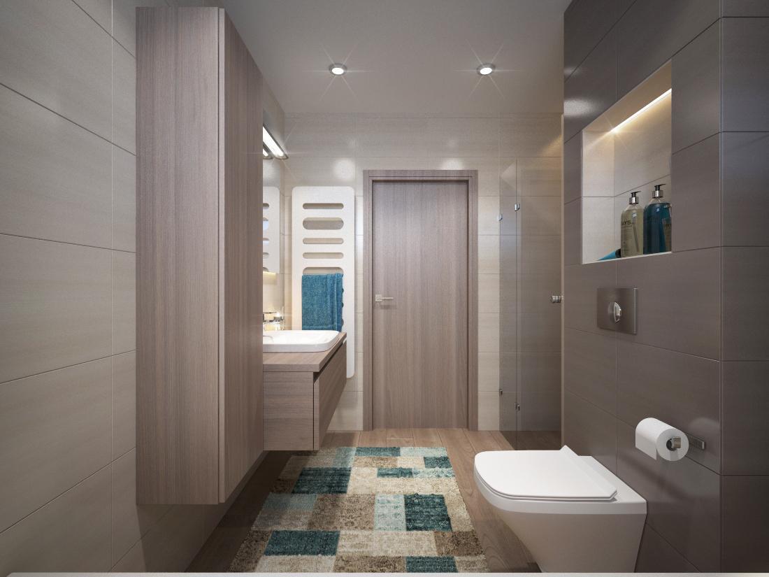 Návrhy a vizualizácie kúpeľní - Obrázok č. 35