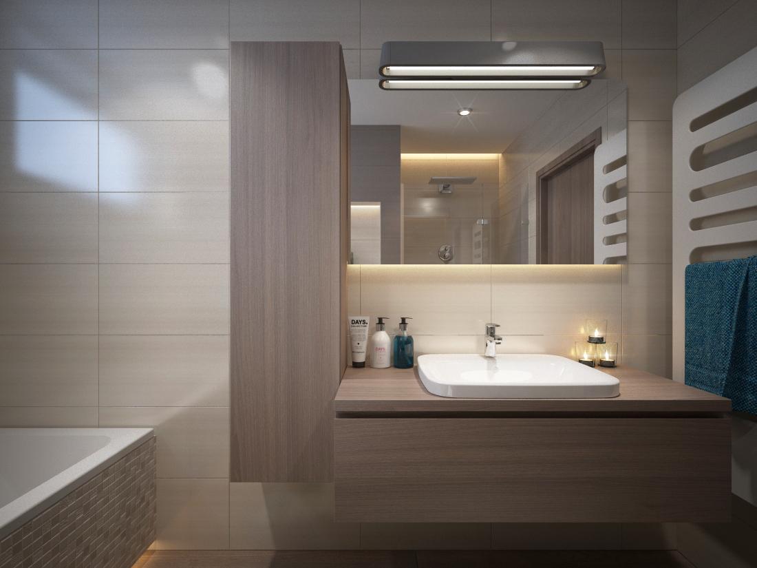 Návrhy a vizualizácie kúpeľní - Obrázok č. 36