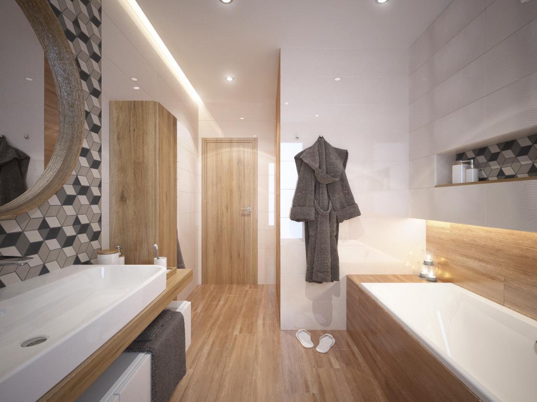 Návrhy a vizualizácie kúpeľní - Obrázok č. 42