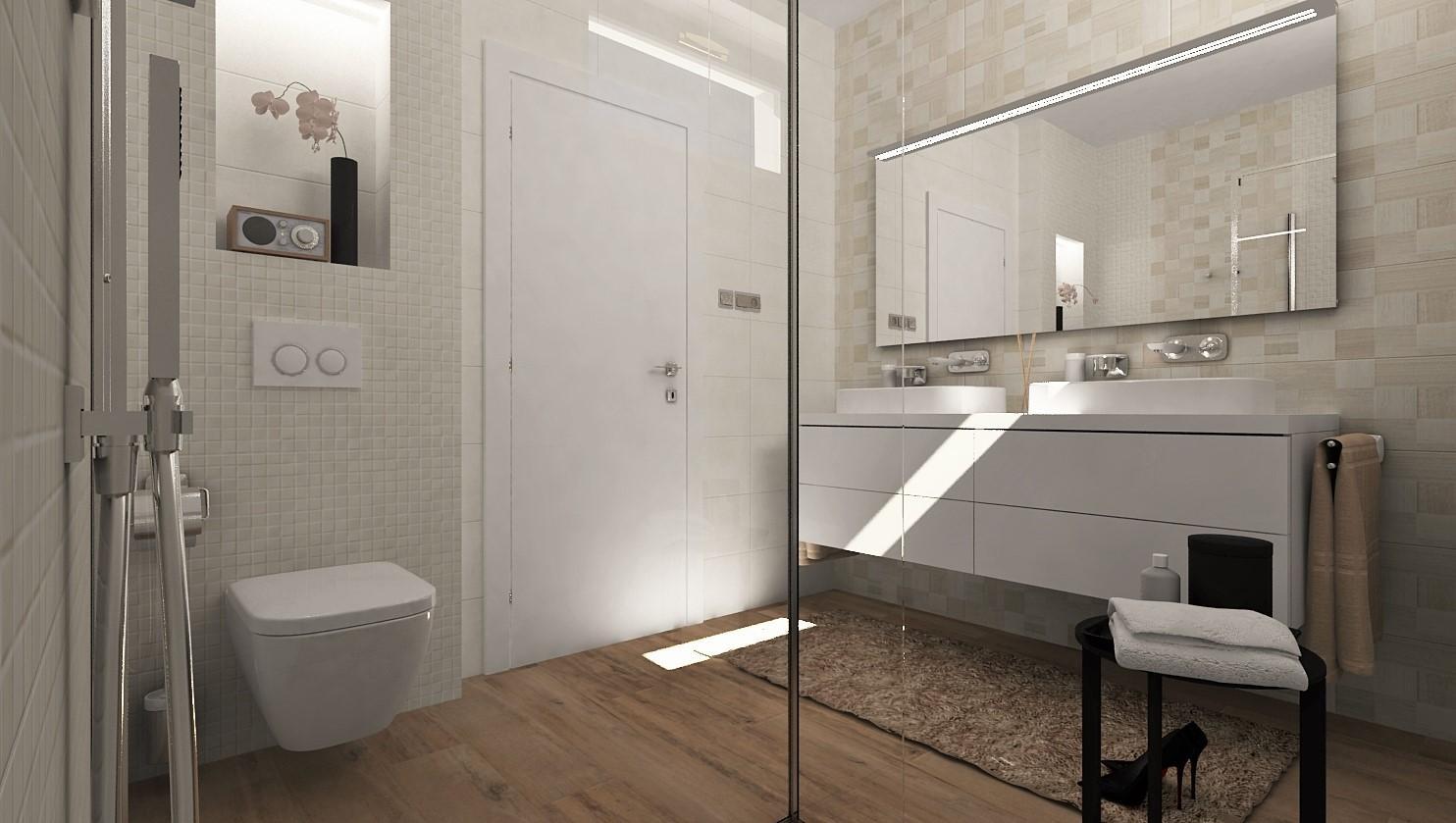 Návrhy a vizualizácie kúpeľní - Obrázok č. 43
