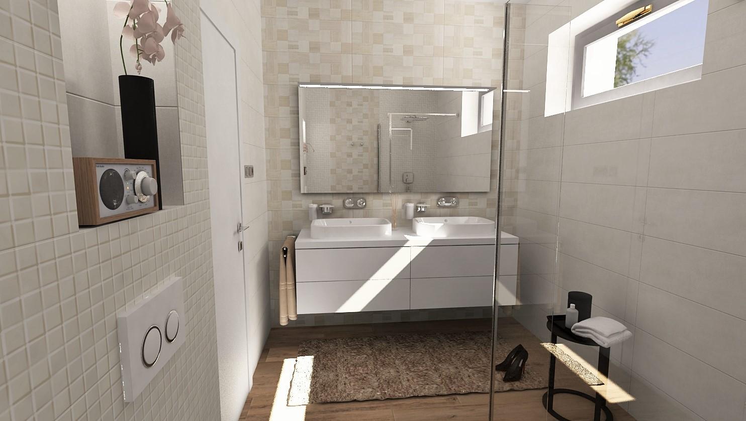 Návrhy a vizualizácie kúpeľní - Obrázok č. 44