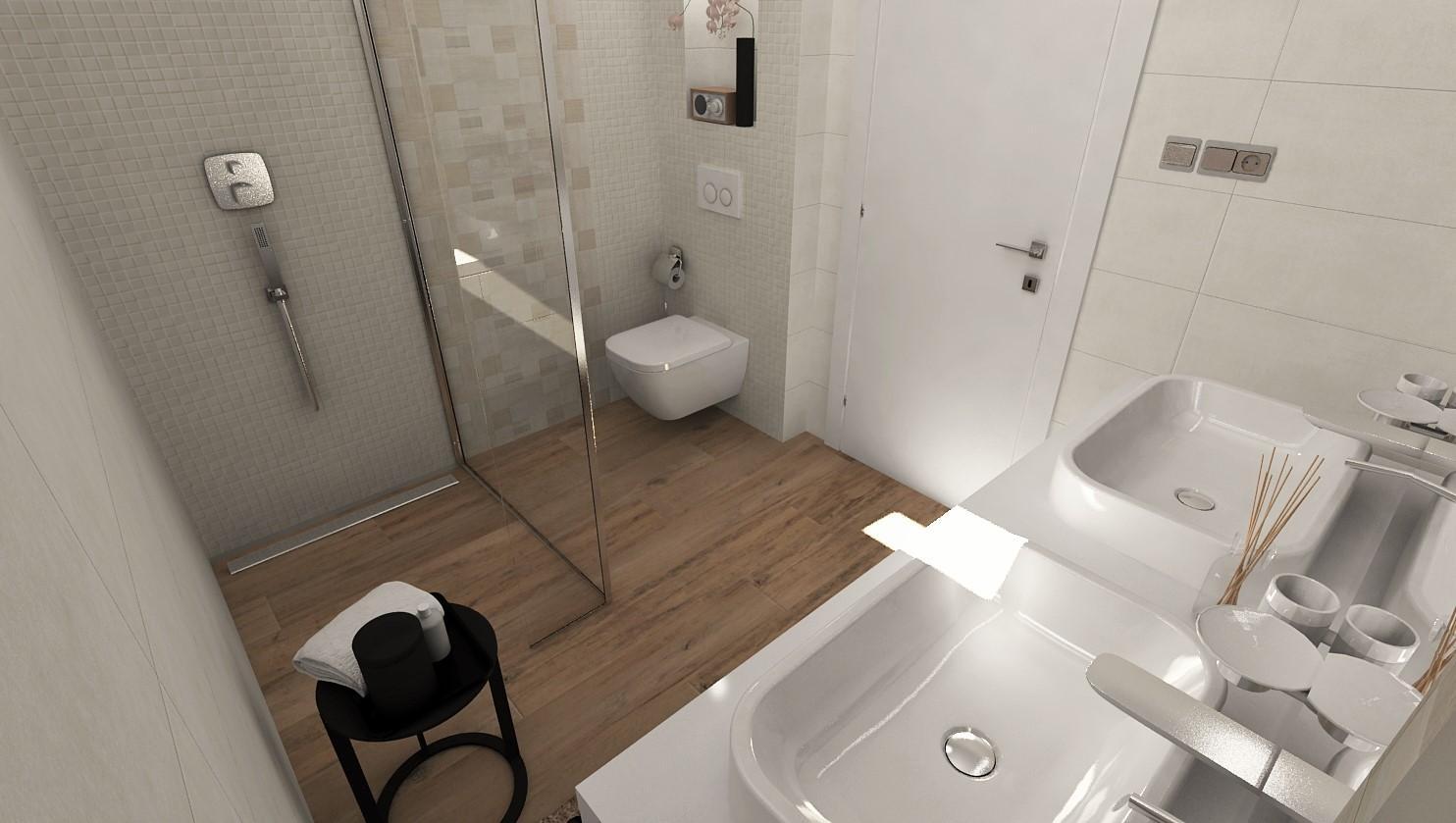 Návrhy a vizualizácie kúpeľní - Obrázok č. 45