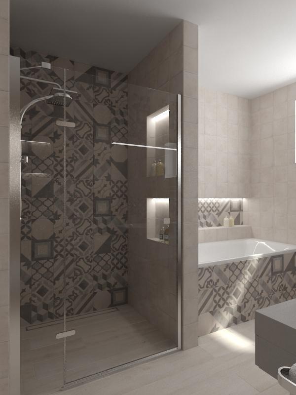 Návrhy a vizualizácie kúpeľní - Obrázok č. 51