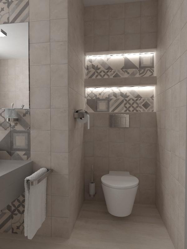 Návrhy a vizualizácie kúpeľní - Obrázok č. 52