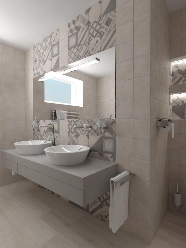 Návrhy a vizualizácie kúpeľní - Obrázok č. 53