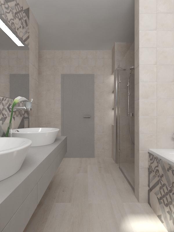 Návrhy a vizualizácie kúpeľní - Obrázok č. 54