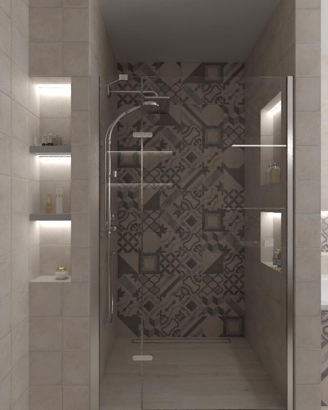Návrhy a vizualizácie kúpeľní - Obrázok č. 55