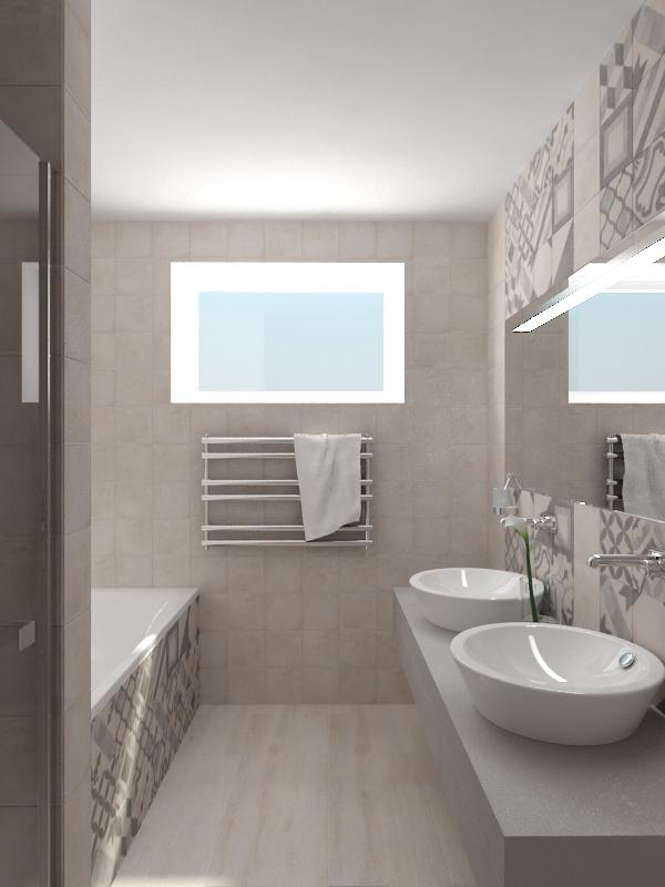Návrhy a vizualizácie kúpeľní - Obrázok č. 56