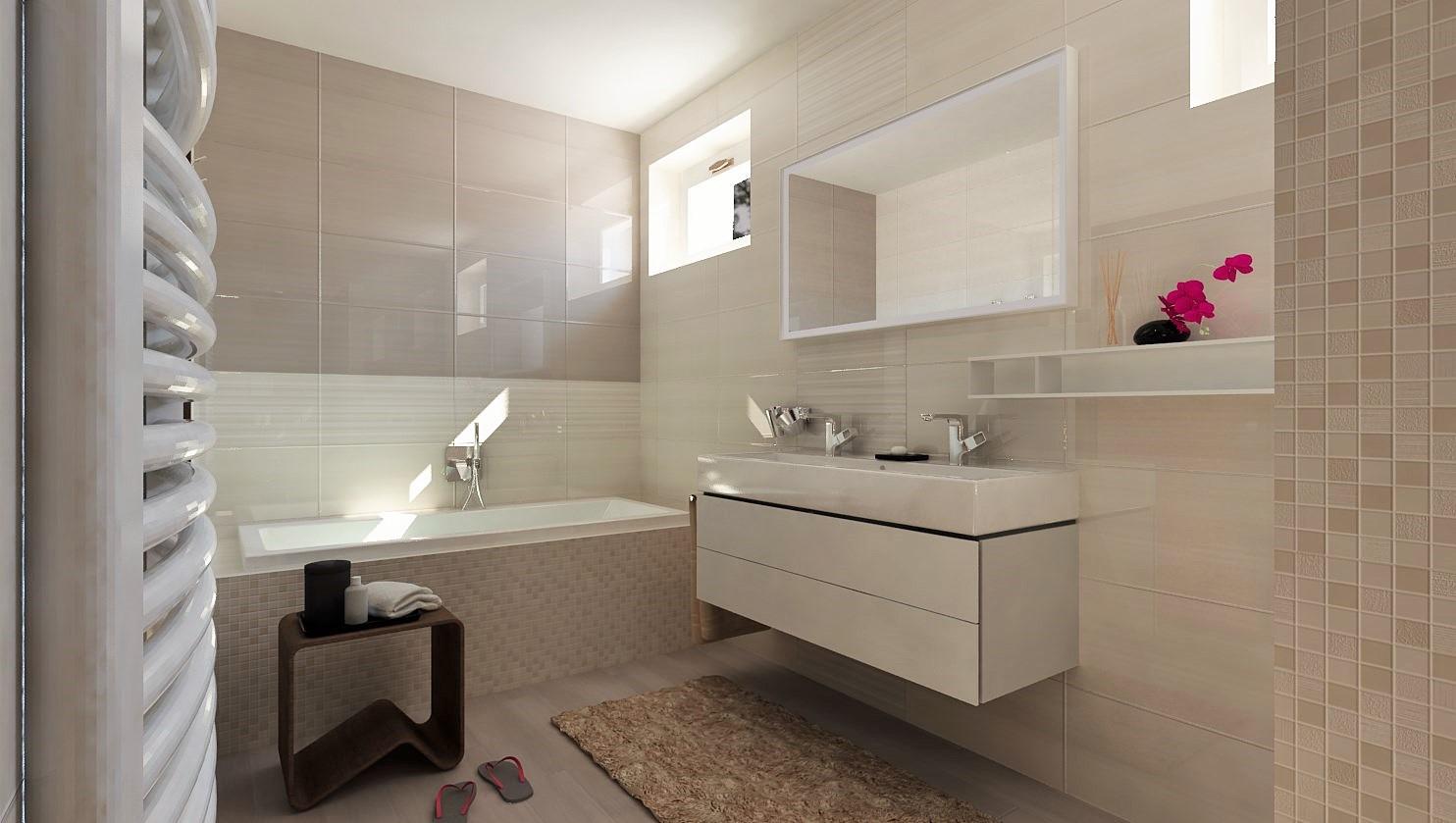 Návrhy a vizualizácie kúpeľní - Obrázok č. 57